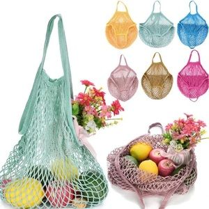 Handbags - NEW NET BAG AVAILABLE IN ALL COLORS MESH BAG
